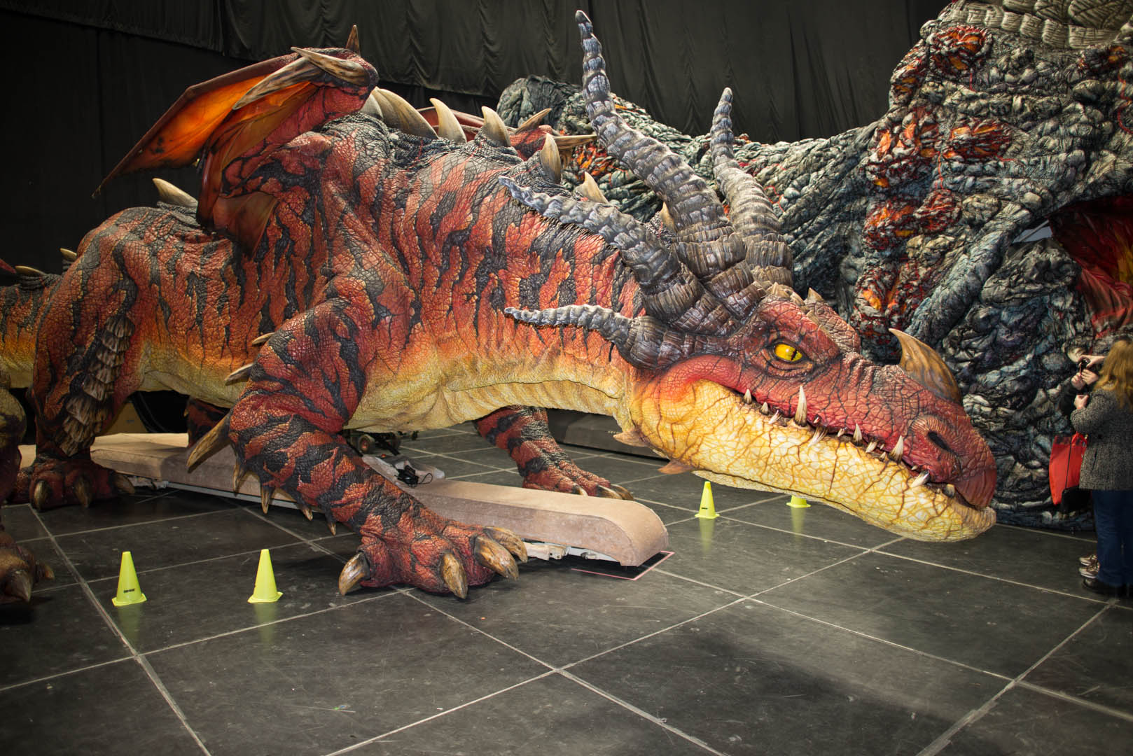 Your dragon live monstrous nightmare monstrous nightmare backstage